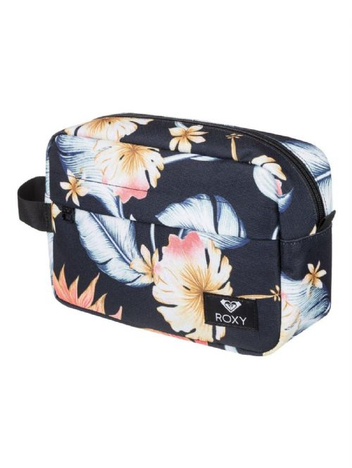 ROXY WOMENS VANITY CASE.BEAUTIFULLY TOILETRY FLOWER MAKE UP TRAVEL BAG 9S 45 KV